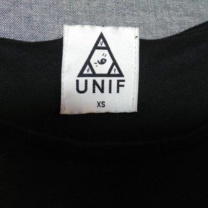 UNIF Tops - UNIF Crop Tie Front Tee